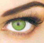 Eyes and eyebrows